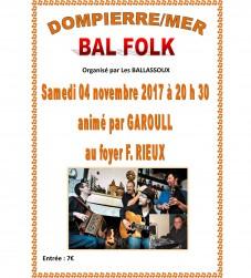 Bal Folk à Dompierre Sur Mer