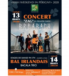 Irish weekend in Périgny 2020