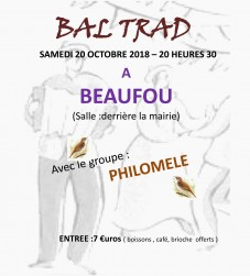 Bal folk Philomèle à  Beaufou