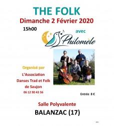 Bal folk à Balanzac