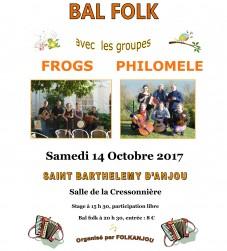 Bal folk Philomèle - Angers