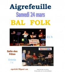 Bal folk à Aigrefeuille d'Aunis