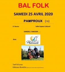 Bal folk Philomèle à Pamproux