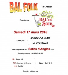 Bal folk À SALLES D'ANGLES