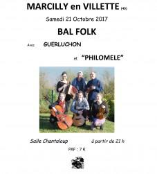 Bal folk Philomèle - Marcilly-en-Villette (45)